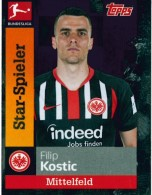TOPPS Bundesliga 2019//2020 Sticker 129 Konstantinos Stafylidis