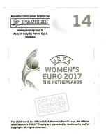 Frauen EM2017 Sticker 207 Sara Björk Gunnarsdóttir Island
