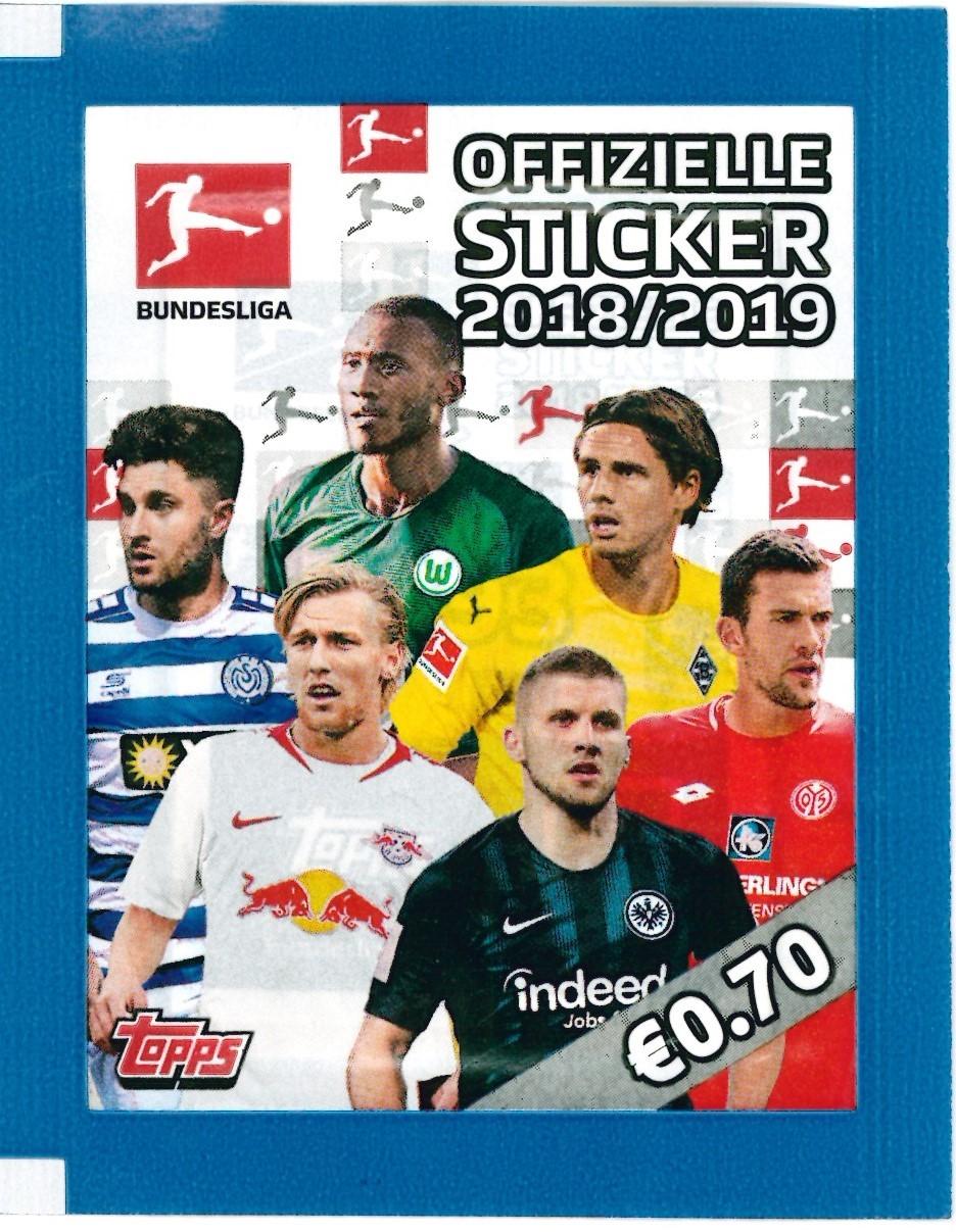 TOPPS Bundesliga 2018//2019 Sticker 257 Mario Gomez